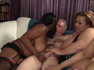 Chubby sluts in a sex orgy