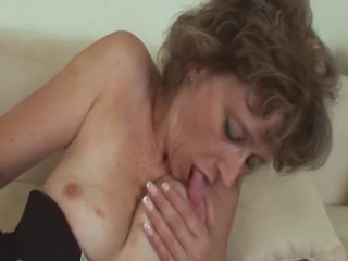 Hungarian Granny sucking and fucking a tasty cock