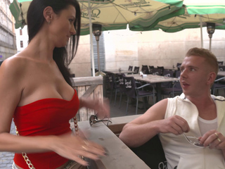 BitchesAbroad - Hot European babe with big tits enjoys a hardcore banging abroad