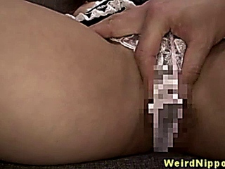 Oriental french maid getting rimmed