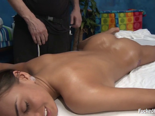 Janice Griffith oily massage