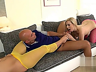 Blonde plus Brunette equels foot pleasure