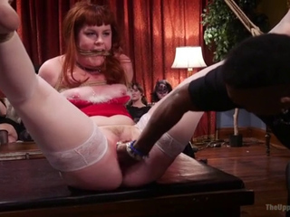 Holiday BDSM Slut Orgy turns Fangirl to Sex Slave