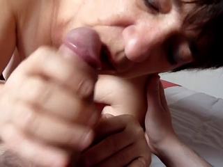 mature beauty sucking Dick and getting fucked